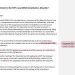 Proposed Constitutional Amendment (April 2017)