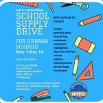 School Supply Drive – Final Week