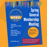 Spring General Membership Meeting :: Thu Feb 22